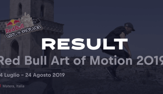 【大会結果】Red Bull Art of Motinon 2019 Italy