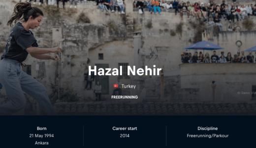 Hazal Nehir が女性トレーサー初のレッドブルアスリートに!